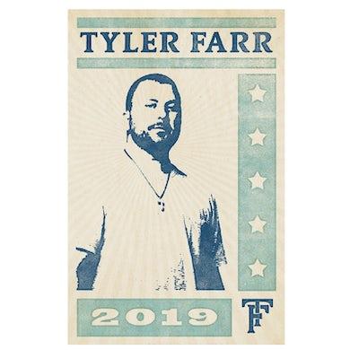Tyler Farr SIGNED Poster