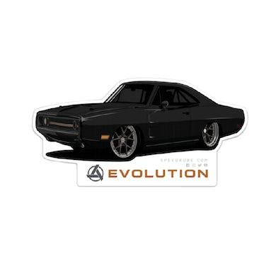 Allie Colleen SpeedKore Charger Evolution Sticker