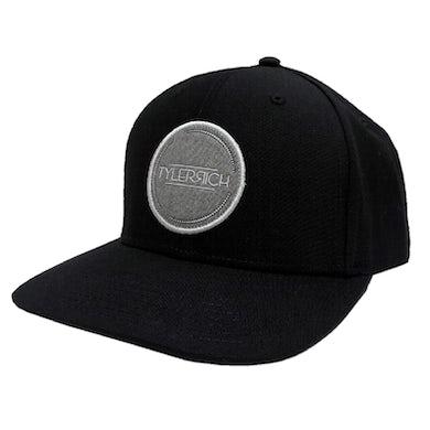 Tyler Rich Black Logo Ballcap
