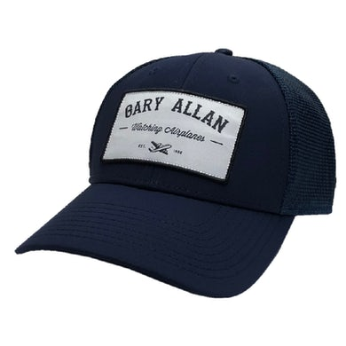 Watching Airlplanes Navy Ballcap