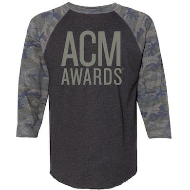 Academy of Country Music ACM Awards Vintage Smoke and Camo Baseball Tee