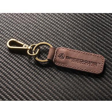 SpeedKore Leather Keychain