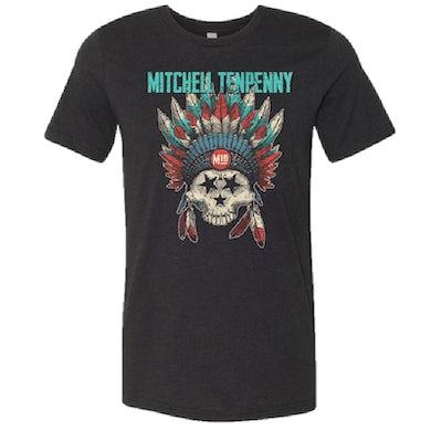 Mitchell Tenpenny Black Frost TriStar Skull Tee