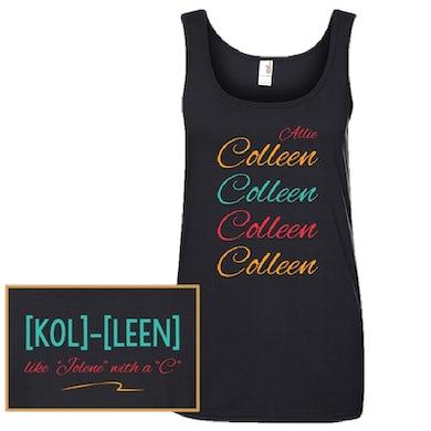 Allie Colleen Ladies Black Tank Top