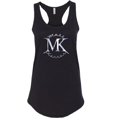 Ladies Black Logo Tank