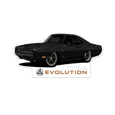 SpeedKore Charger Evolution Sticker