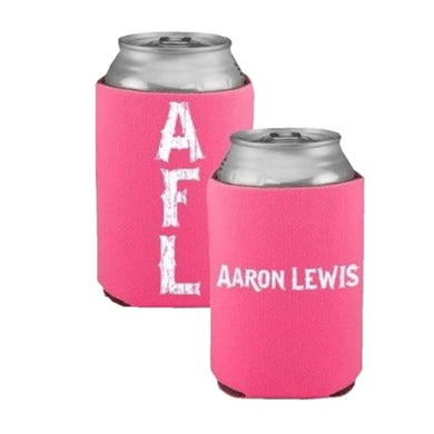 Aaron Lewis AFL Hot Pink Can Coolie