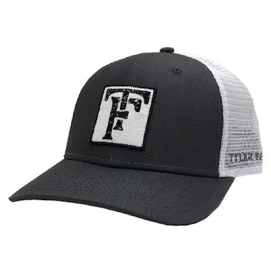 Tyler Farr Charcoal and White Ballcap