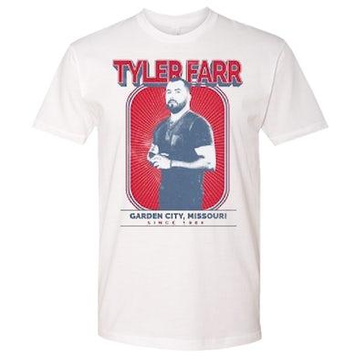Tyler Farr White Photo Tee