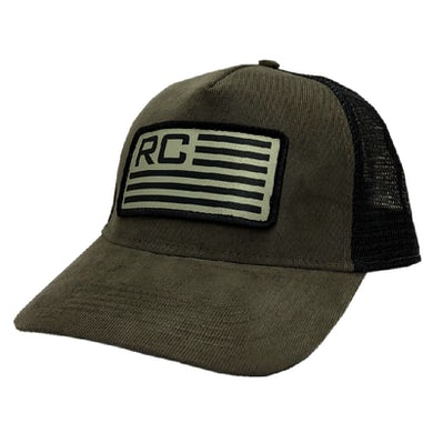 Olive and Black Ballcap