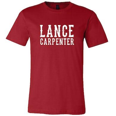 Lance Carpenter Red Logo Tee