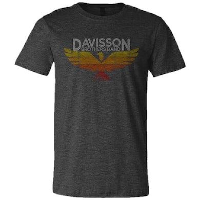 Davisson Brothers Band Unisex Dark Grey Heather Tee