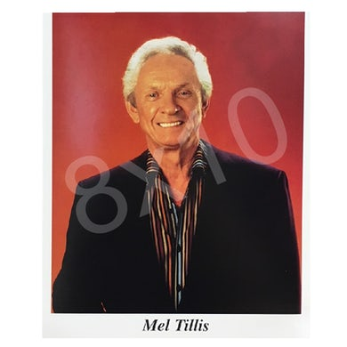 Mel Tillis 8x10- Black Jacket