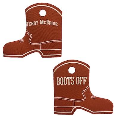 Texas Orange Boot Coolie