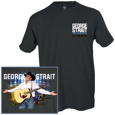 George Strait Charcoal Live in Concert Tee