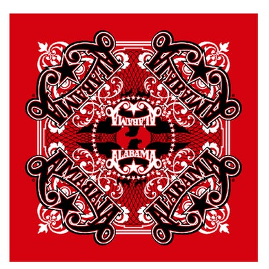Alabama Red Bandana