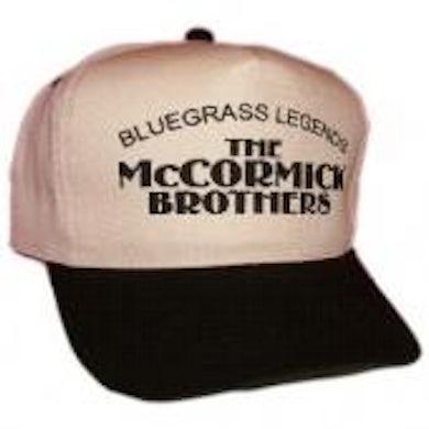 McCormick Brothers Cream and Black Ballcap