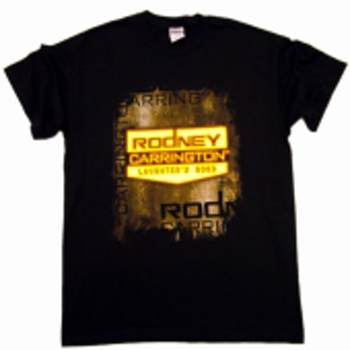 Rodney Carrington Black Tee- Logo