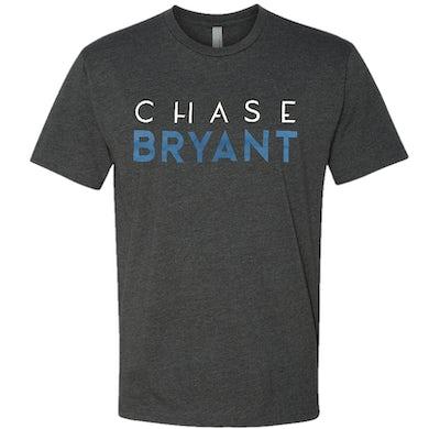 Chase Bryant Charcoal Logo Tee