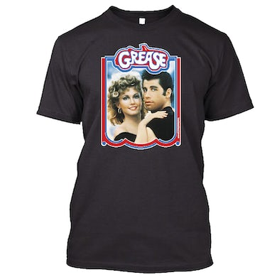 Olivia Newton John Danny and Sandy Photo Tee