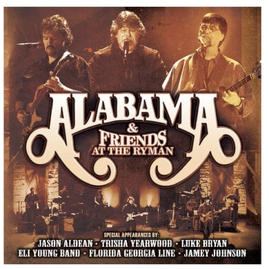 Alabama & Friends at the Ryman 2 Disc Cd Set