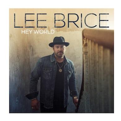 Lee Brice CD- Hey World