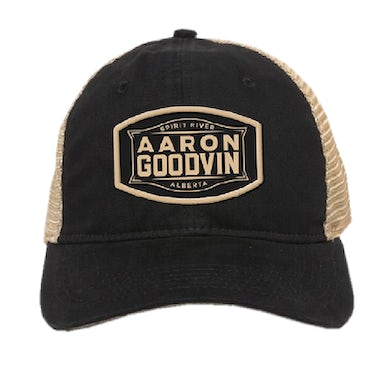 Aaron Goodvin Black and Khaki Ballcap