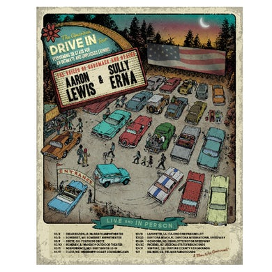 Aaron Lewis The American Drive In Poster