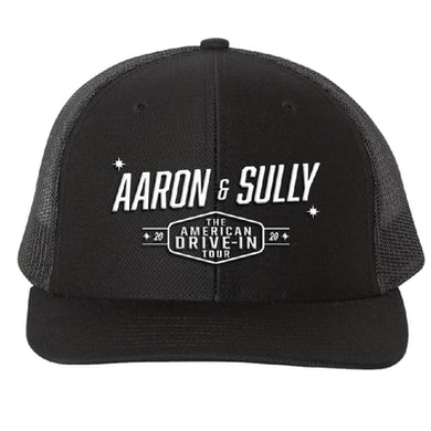 Aaron Lewis The American Drive In Black Ballcap