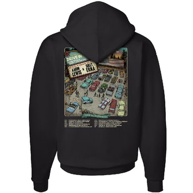 Aaron Lewis The American Drive In Black Pullover Hoodie