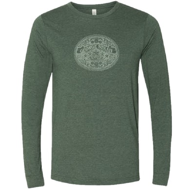 George Strait Long Sleeve Heather Forest Tee