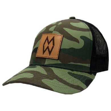 Camo and Black Ballcap