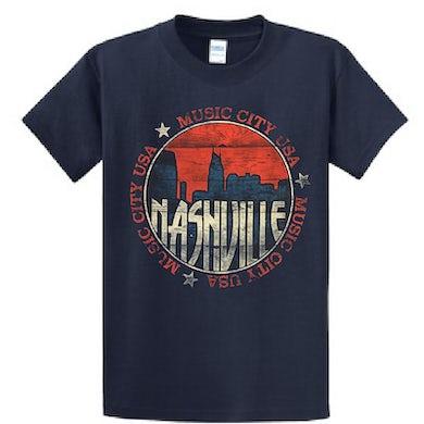 Richards And Southern Nashville Navy Skyline Tee