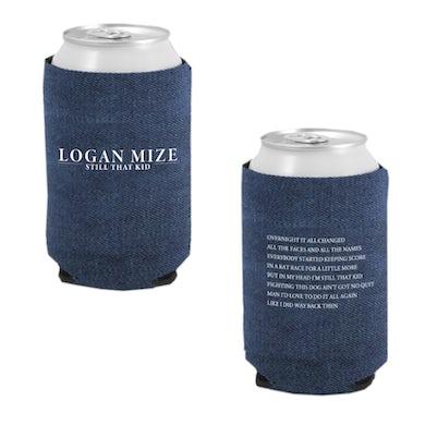 Logan Mize Denim Koozie