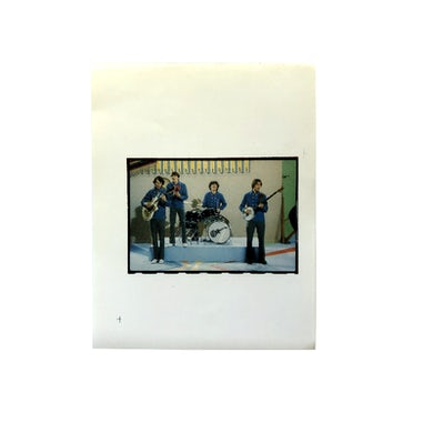 """The Monkees 2-1/2"""" x 3-1/2"""" Band Photo"""