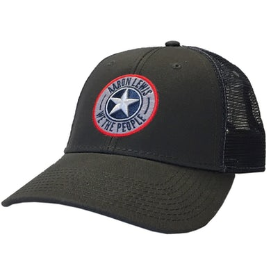 Aaron Lewis Grey and Navy We the People Ballcap