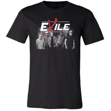 Exile Black Photo Tee