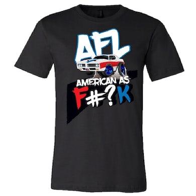 American As F#?K Black Tee