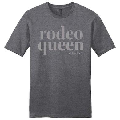 Heather Charcoal Rodeo Queen Tee