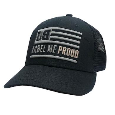 Lee Brice Label Me Proud Black Ballcap