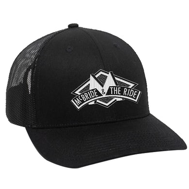 McBride and the Ride 3D Black Trucker Hat