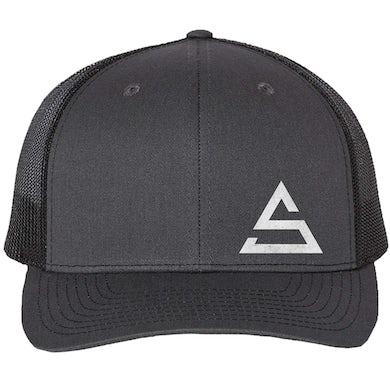 Charcoal and Black Ballcap