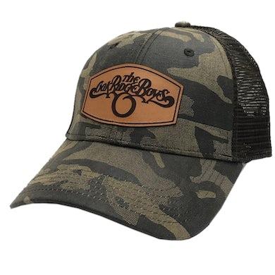 Brown Camo Ballcap