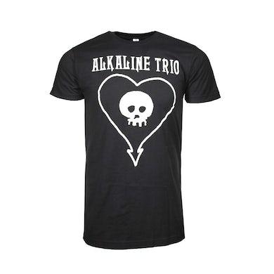 Alkaline Trio T Shirt | Alkaline Trio Classic Heartskull T-Shirt