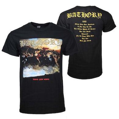 T Shirt   Bathory Blood Fire Death T-Shirt