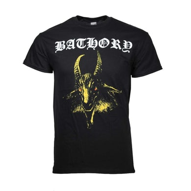 Bathory T Shirt | Bathory Yellow Goat T-Shirt
