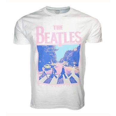 The Beatles T Shirt | Beatles 50th Anniversary Abbey Road White T-Shirt