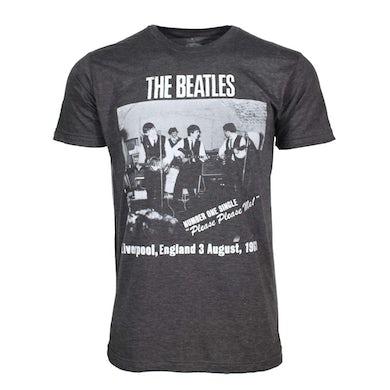 The Beatles T Shirt   Beatles Cavern Club Heather Charcoal Soft T-Shirt