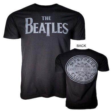 The Beatles T Shirt | Beatles Lonely Hearts Black T-Shirt