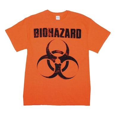 Biohazard T Shirt | Biohazard Distressed Logo T-Shirt